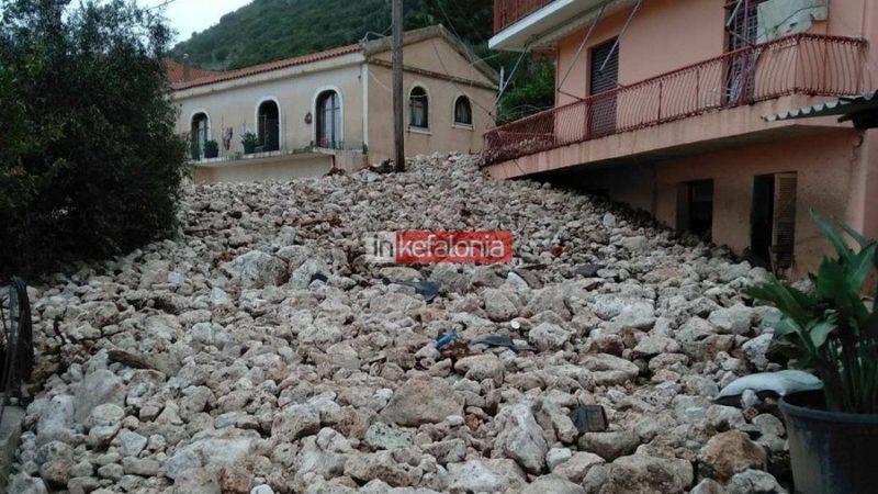 Σαρώνει τη χώρα η «Βικτώρια»: Καταστροφές σε Κέρκυρα, Κεφαλονιά και Χανιά