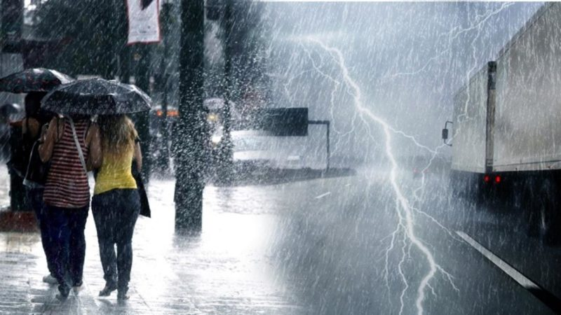 Πρόγνωση Θεσσαλίας και Σποράδων 25-26/11/19 Κακοκαιρία με ισχυρές βροχές και καταιγίδες την Δευτέρα