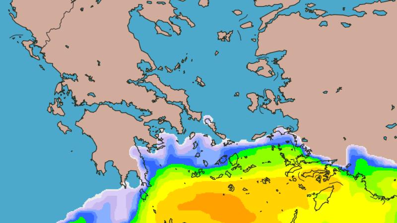 Πρόγνωση νότιας νησιωτικής χώρας 14-16/01/20 Ισχυρή κακοκαιρία με βροχές και καταιγίδες (+χάρτες βροχής)
