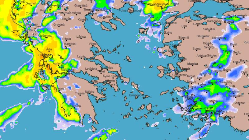 Πρόγνωση Θεσσαλίας και Σποράδων 27-29/01/20 Λίγες συννεφιές και σημαντική άνοδος της θερμοκρασίας (+χάρτες βροχής)