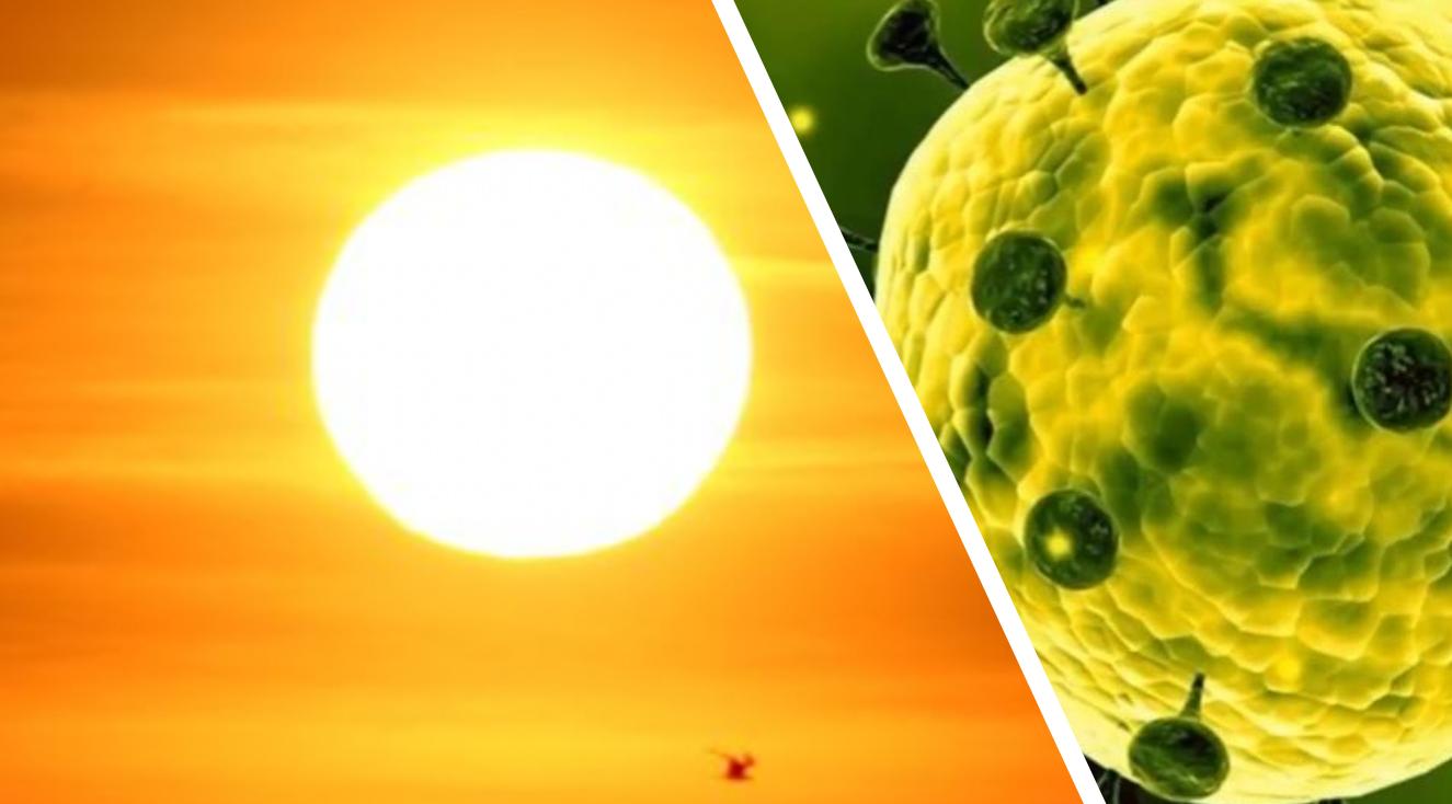 Η ηλιοφάνεια και ο ζεστός καιρός μπορούν να καταστείλουν τον κορονοϊό!