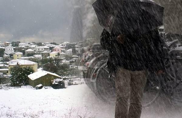 Πρόγνωση Θεσσαλίας και Σποράδων 25-27/3/20 Πολλές βροχές και πυκνές χιονοπτώσεις στα ορεινά