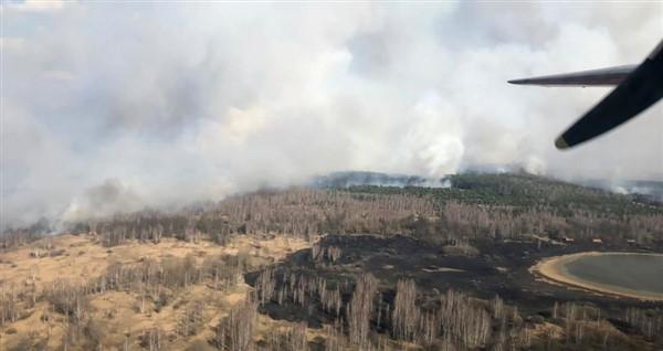 Αύξηση ραδιενέργειας κοντά στο Τσέρνομπιλ εξαιτίας δασικής πυρκαγιάς