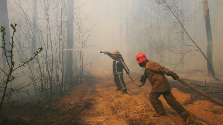 Κατασβέστηκε η πυρκαγιά κοντά στο πρώην πυρηνικό εργοστάσιο του Τσερνόμπιλ