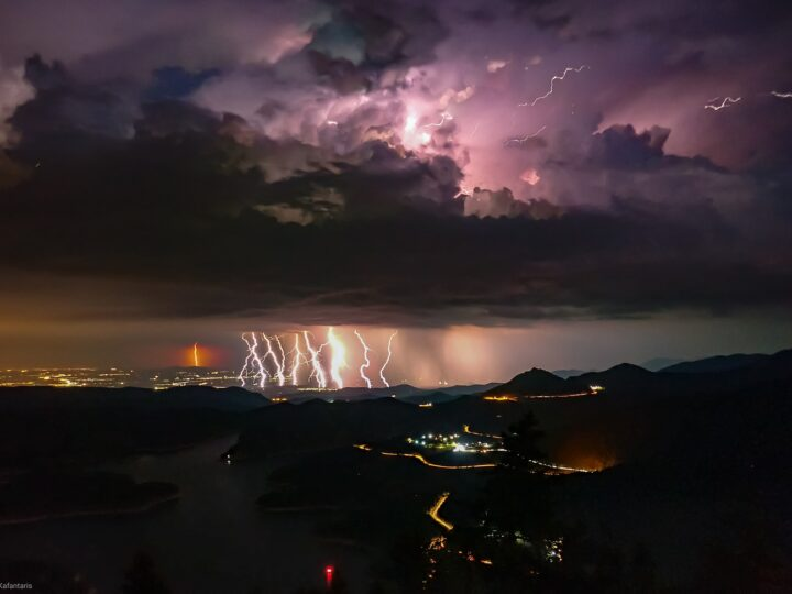 Η καταιγίδα που επηρέασε Λάρισα και Καρδίτσα την Τρίτη 25/8/20 (αποκλειστικές φώτο)