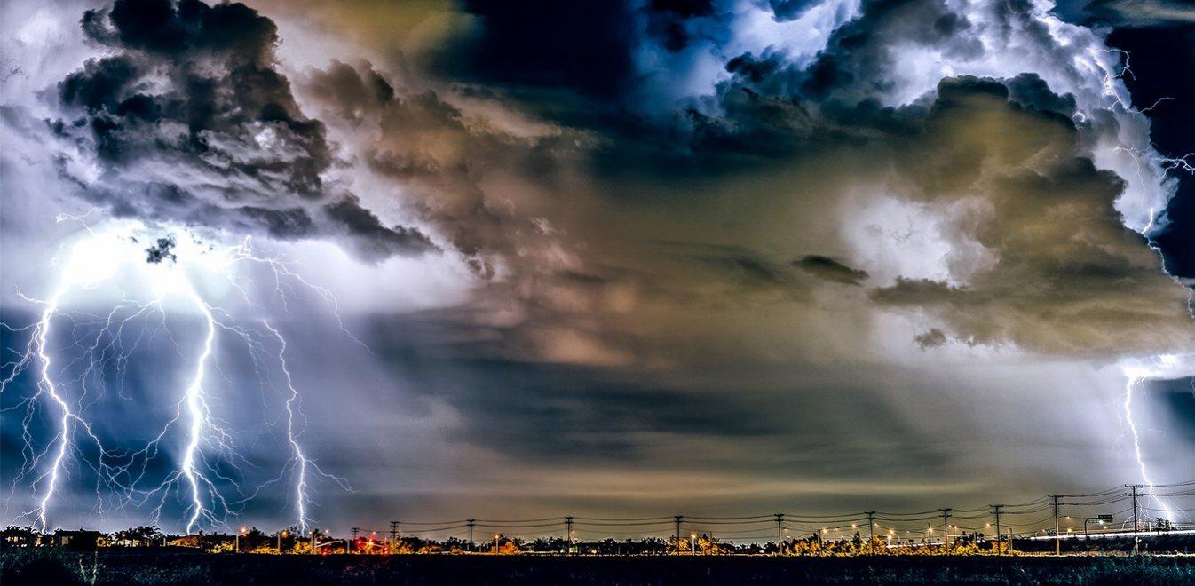 Μπόρες και καταιγίδες απο το μεσημέρι της Τρίτης 25/8/20 (χάρτες καταιγίδων-βροχής)