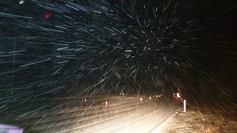 Χιονίζει τώρα σε Ροδόπη και Έβρο (φωτό+βίντεο)
