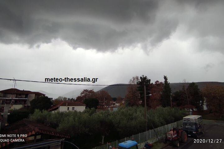Το ψυχρό μέτωπο που πέρασε απο τη Θεσσαλία (+αποκλειστικές φωτογραφίες)
