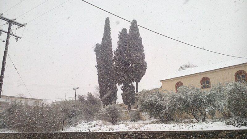 Πρόγνωση Θεσσαλίας και Σποράδων 16-17/1/21 Ισχυρές χιονοπτώσεις και στα πεδινά τμήματα (+χάρτης βροχής και χιονιού)