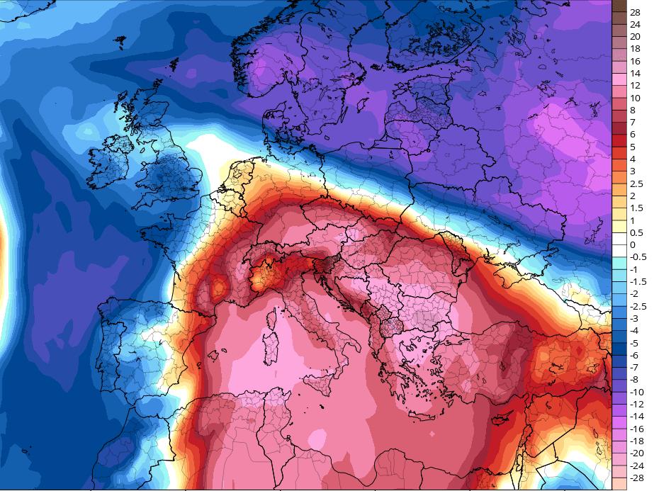 Αλκυονίδες προ των πυλών με υψηλές θερμοκρασίες (+χάρτες)