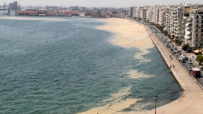 Θερμαϊκός Κόλπος: Μπαίνουν πλωτά φράγματα με στόχο την προστασία από τη θαλάσσια ρύπανση