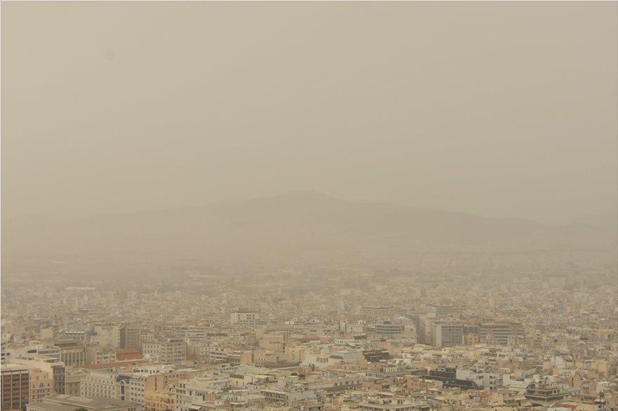 Αυξημένη μεταφορά σκόνης Κυριακή- Δευτέρα (+χάρτες)