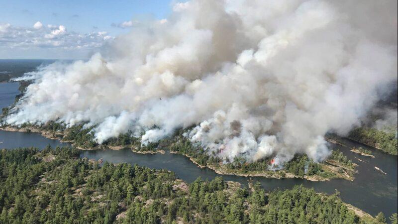 Κίνδυνος εκδήλωσης δασικών πυρκαγιών μετά την έλευση του καύσωνα(+Χάρτες)