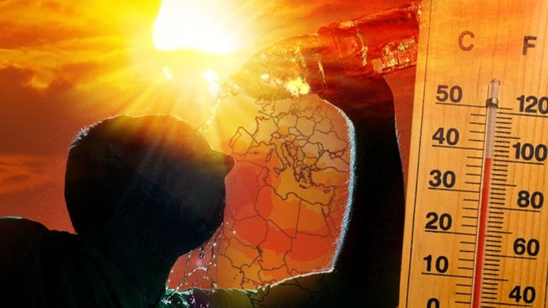 Πρόγνωση Θεσσαλίας και Σποράδων 22-24/6/21 Καύσωνας πρό των πυλών (+χάρτης βροχής)