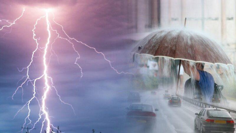 Πρόγνωση Θεσσαλίας και Σποράδων 7-8/6/21 Έντονη αστάθεια με καταιγίδες και πιθανές χαλαζοπτώσεις (+χάρτης βροχής)