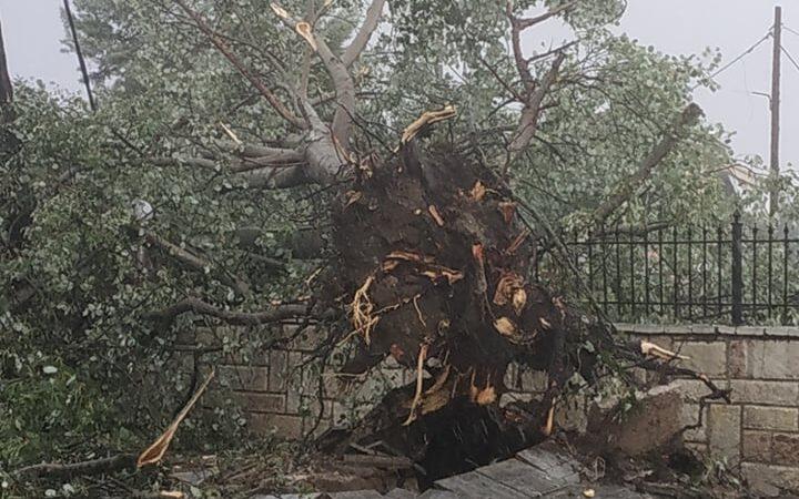 Η καταστροφική καταιγίδα που έπληξε την περιοχή του Παλαμά στις 18/7/2021(+Χάρτες)