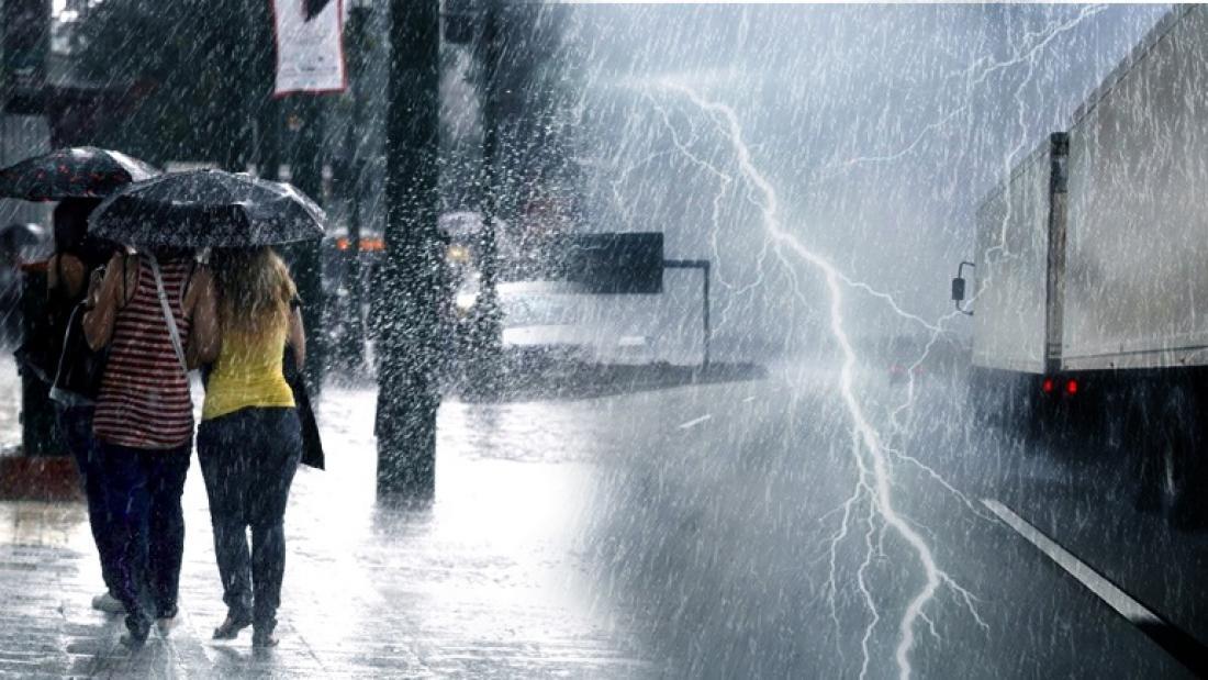 Πρόγνωση Θεσσαλίας και Σποράδων 19-21/7/21 Άστατος καιρός με μπόρες και καταιγίδες (+χάρτης βροχής)