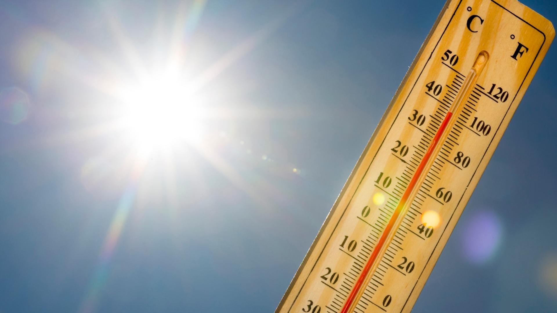 Οι μέγιστες θερμοκρασίες που καταγράφηκαν την 1/8/2021 στην Θεσσαλία
