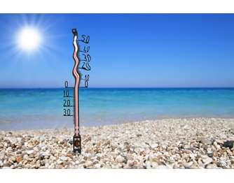 Καυτοί άνεμοι σαρώνουν σήμερα 5/8/2021 την Θεσσαλία. Οι μέγιστες θερμοκρασίες που καταγράφηκαν.