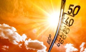 Καμίνι και σήμερα η Θεσσαλία. Οι μέγιστες θερμοκρασίες που σημειώθηκαν στις 3/8/2021