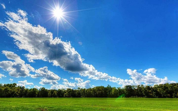 Πρόγνωση Θεσσαλίας και Σποράδων 25-27/9/21 Ηλιοφάνεια με καλοκαιρινές θερμοκρασίες