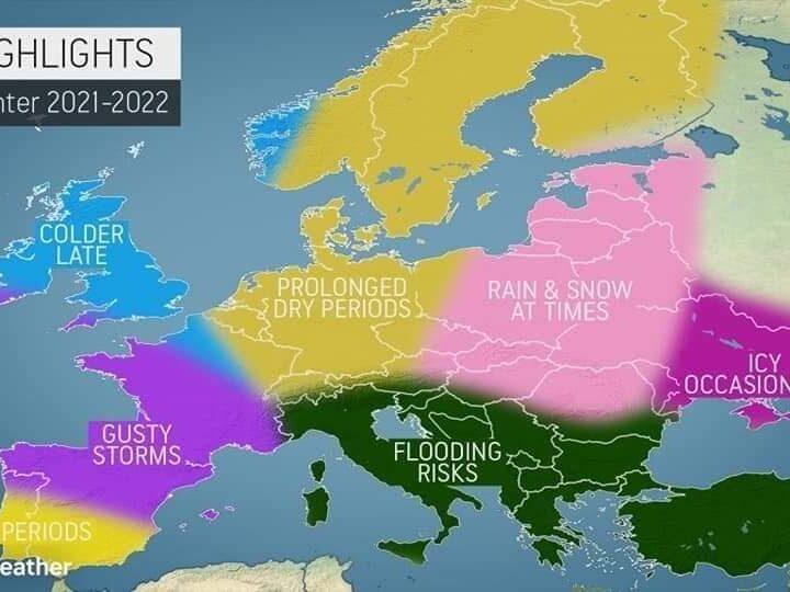 ΧΕΙΜΩΝΑΣ 2021-2022 (+χάρτες)