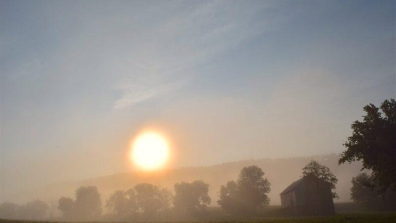 Πρόγνωση Θεσσαλίας και Σποράδων 18-20/10/21 Λίγες βροχές στα ανατολικά και τοπικές ομίχλες (+χάρτης βροχής)